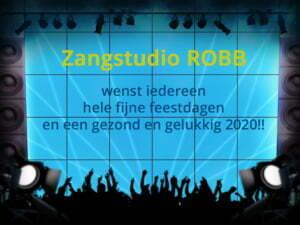 Kerstwens Zangstudio ROBB 2019
