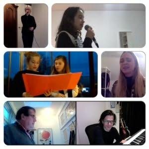 Compilatie afbeelding online zanglessen Zangstudio ROBB