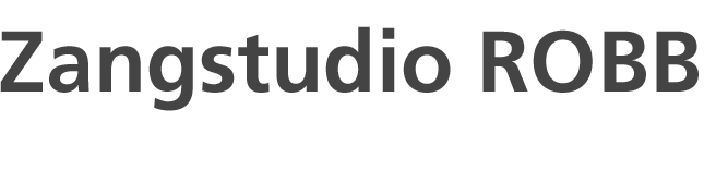 Zangstudio robb